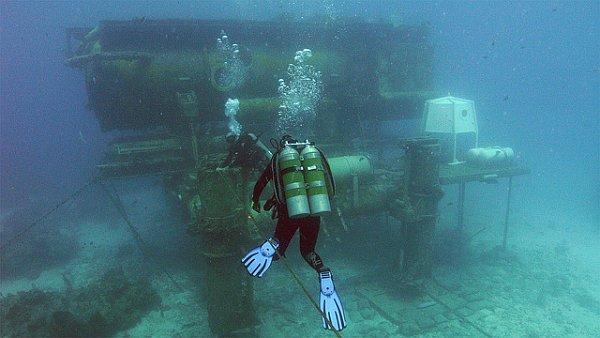 Подводная деревня Кусто