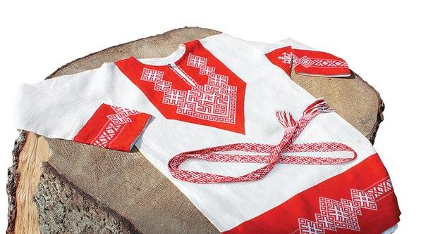 нательная одежда древних славян